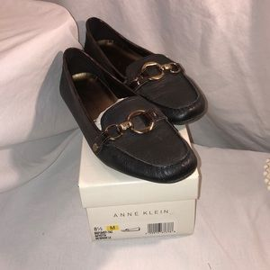 Anne Klein Black Flats/Loafers
